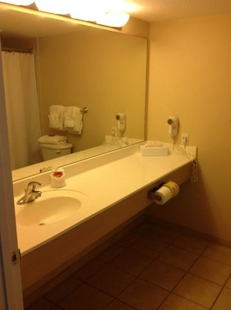 Capt Hiram's Resort: bathroom