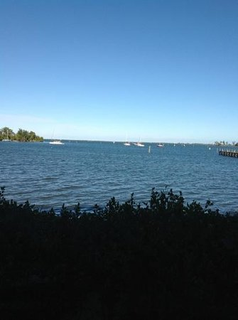 Capt Hiram's Resort: view from window