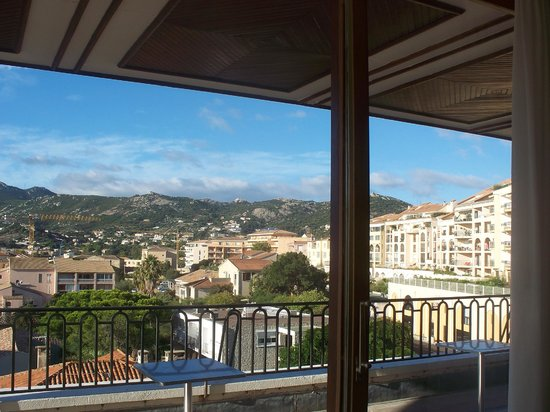 Grand Hotel de Calvi: Another view from the restaurant/bar