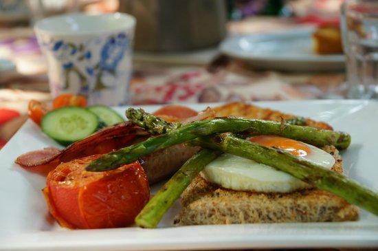 Villa Bresciana Bed & Breakfast: breakfast 2