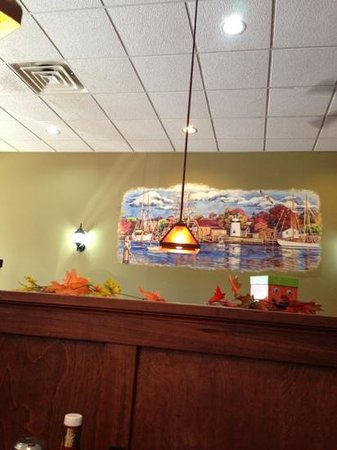 Kalona Family Restaurant: one of the rooms