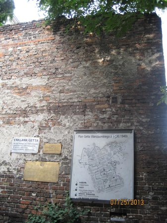 Warsaw Ghetto : ghetto wall