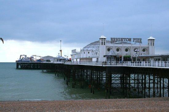 Mercure Brighton Seafront Hotel: zona del puerto comercial