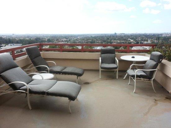 InterContinental Los Angeles Century City: Balcony
