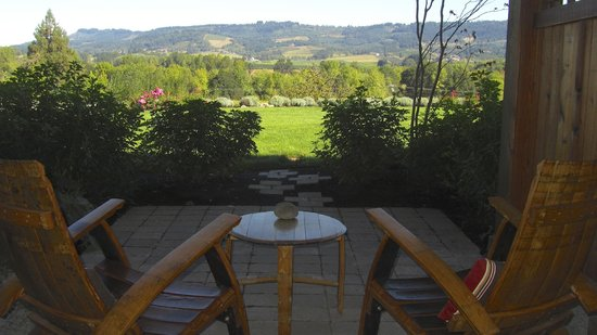 Le Puy A Wine Valley Inn: Heaven's private patio