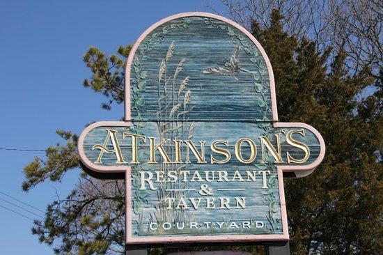 Atkinson's Restaurant & Tavern: Sign
