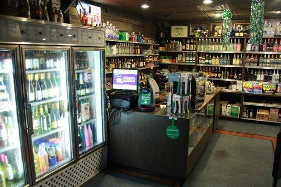 Atkinson's Restaurant & Tavern: Liquor Store