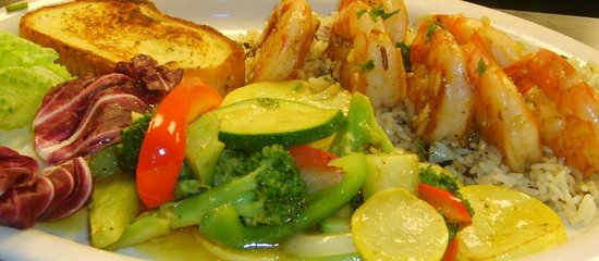 Milanos Pizza and Italian Restaurant: Shrimp scampi
