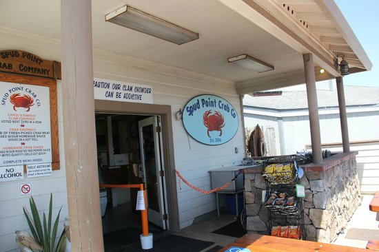 Spud Point Crab Company : Store front