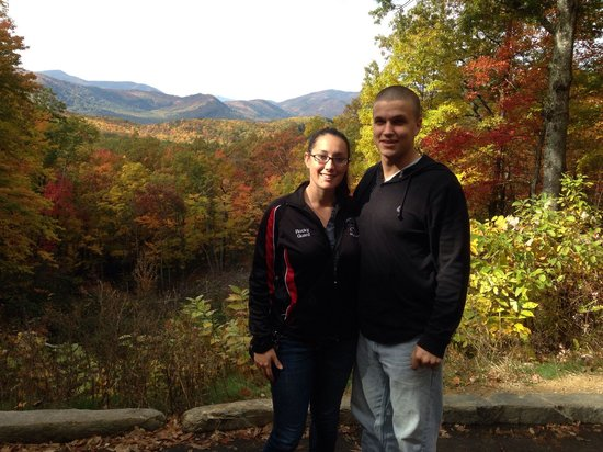 Roaring Fork : First great view from the motor trail.