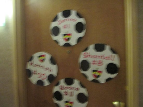 Embassy Suites by Hilton Convention Center Las Vegas: Soccer teams took control of the hotel.