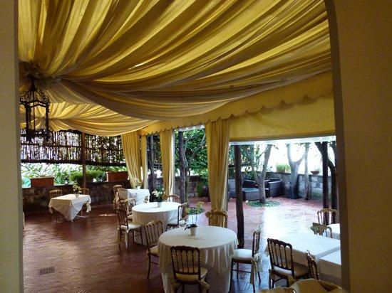 Palazzo Marziale: The restaurant, Terrazza Marziale