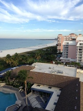 Hilton Marco Island Beach Resort--CLOSED FOR RENOVATIONS; REOPENING DEC. 1, 2017: room view