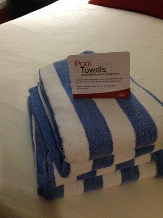 Welk Resort Branson : Lots of towels