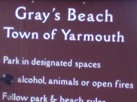 Gray's beach.