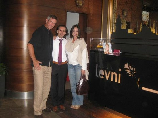 """Levni Hotel & Spa : """"Musi""""(in the middle) is the hotel Manager and VERY nice and helpful!"""