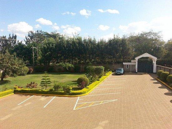 Mirema Serviced Apartments: Garden, and Gate