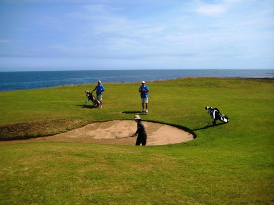 Kingsbarns Golf Links: Penalizing bunker