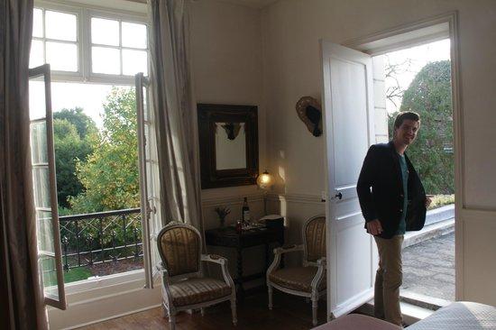 Chateau de la Villaine: Comtesse Room