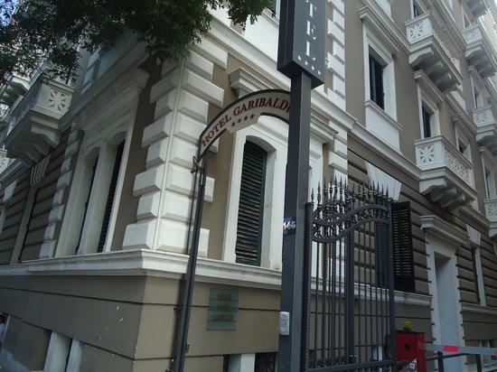 Hotel Garibaldi : fachada