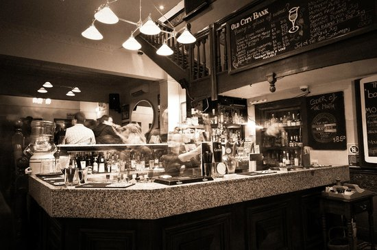 Old City Bank Brasserie: The Bar...