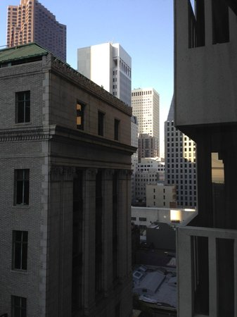 Le Meridien San Francisco: View from our room