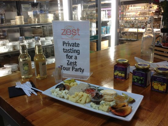 Zest Food Tours of New Zealand : Fabulous private tasting plate!!! Just for two!!!!