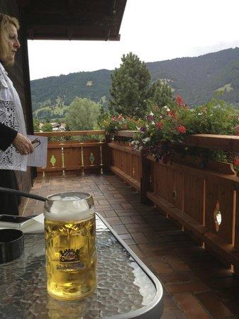 Parkhotel Sonnenhof: Balcony