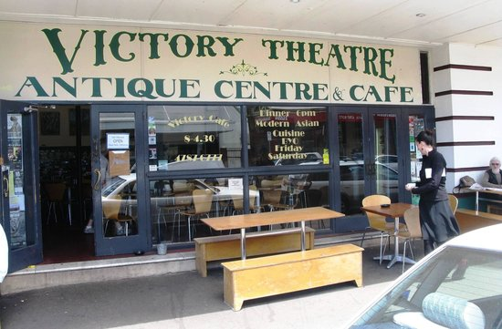 Victory Cafe: The outdoor dining section