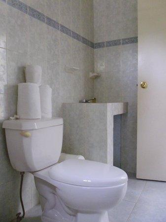 Hotel Piedras del Sol Acapulco Diamante: Sala sanitaria en habitación