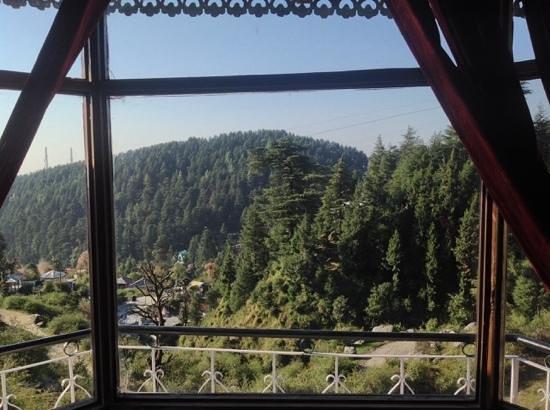 Shivalay Hotel: вид из окна номера