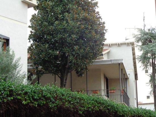 Hotel Alessandro della Spina: Balcony of room