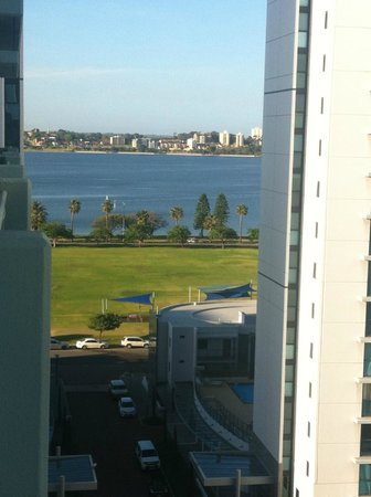 Comfort Inn & Suites Goodearth Perth: View from room