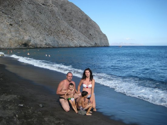 Kavros Beach: Эгейское море.Санторини.