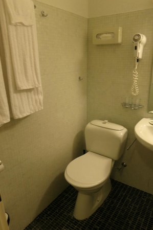 Astor Hotel & Serviced Apartments : Toilet viewed from bathoom entrance