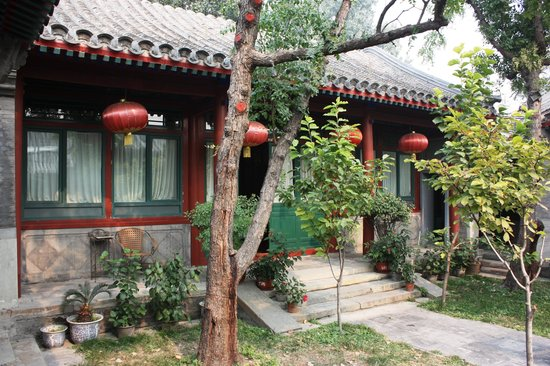 Beijing Sihe Courtyard Hotel: My room from the garden