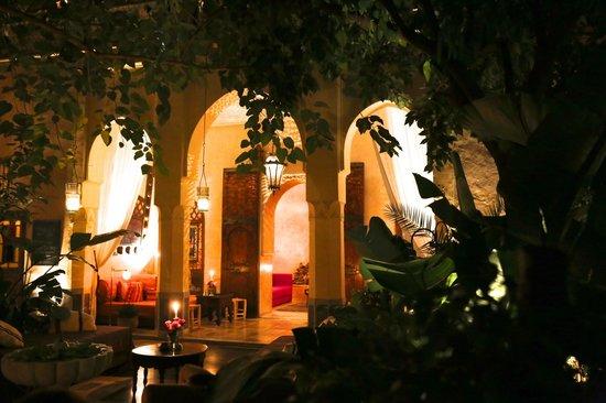 The courtyard of EL Fenn