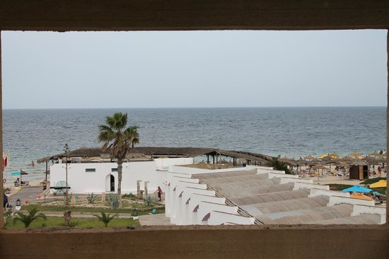 Thalassa Sousse Resort & Aquapark : вид с горок