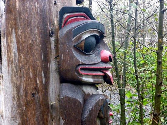 Potlatch Totem Park: Every totem tells a story.