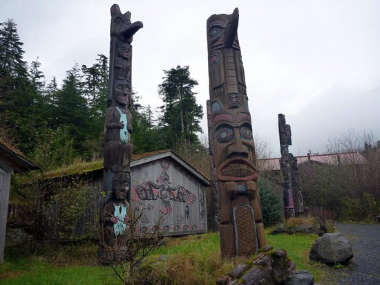 Potlatch Totem Park: Potlatch is very captivating.
