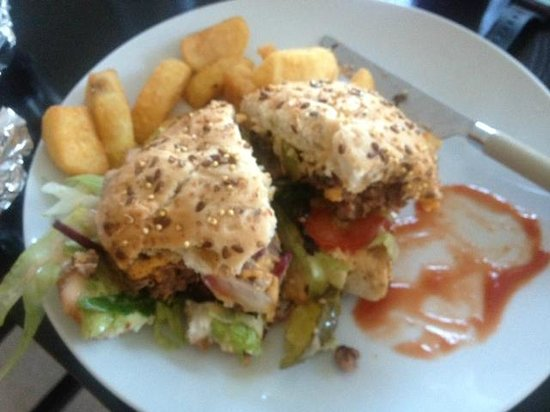 Fistral Chef: The best burger in town!