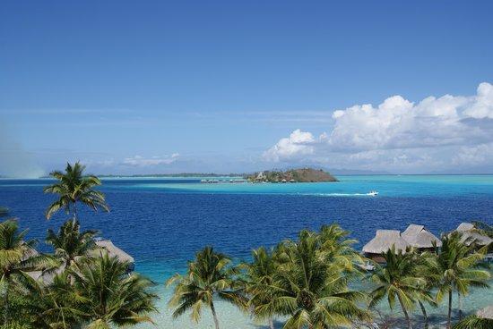 Maitai Polynesia Bora Bora: panorama delle stanze vista laguna
