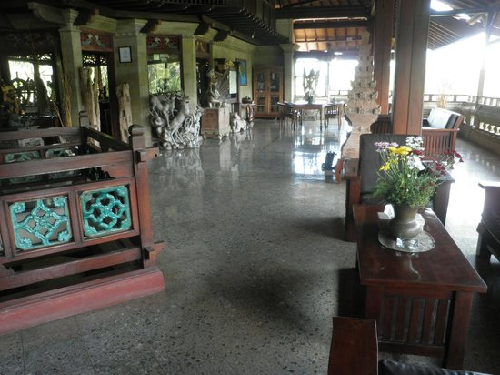 Bali Spirit Hotel and Spa : Reception area