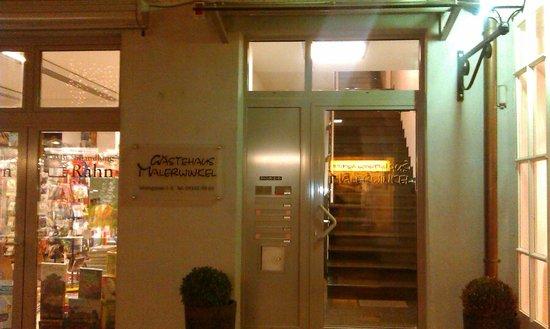 Hotel Am Malerwinkel: Entrance