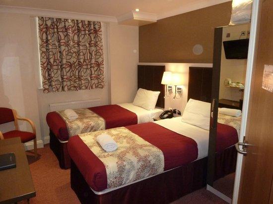 Comfort Inn Buckingham Palace Road: Habitacion 1
