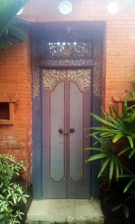 Plataran Canggu Resort & Spa: My villa entrance door