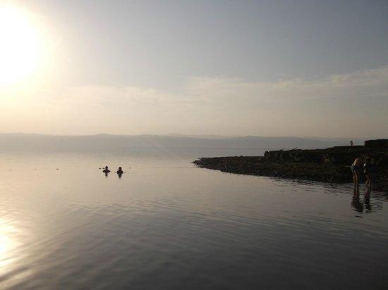 Dead Sea Spa Hotel: Пляж