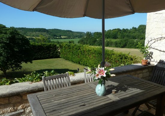 Cézac, France : View from the terrace