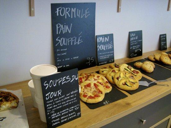 Kozy Salon Urbain: Fresh ingredients for a good lunch!!