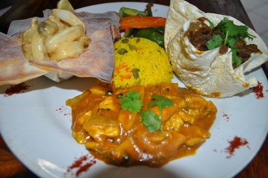 Al Pescatore : curry mix special